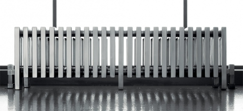 radiateur chrome electrique design r tro et contemporain. Black Bedroom Furniture Sets. Home Design Ideas