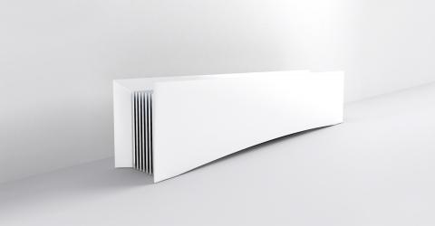 Radiateur lectrique contemporain design d coratif - Radiateur electrique faible hauteur ...
